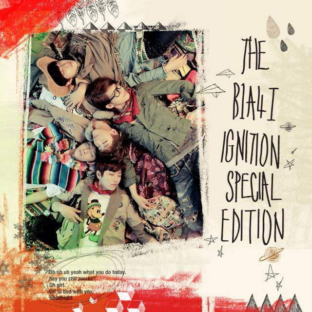 [Album] B1A4 - The B1A4Ⅰ[Ignition] Special Edition