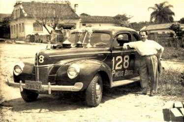 Oswaldo de Oliveira e sua carretera Ford 128
