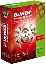 Dr.Web Antivirus ve Security Space v9.0.0.10020