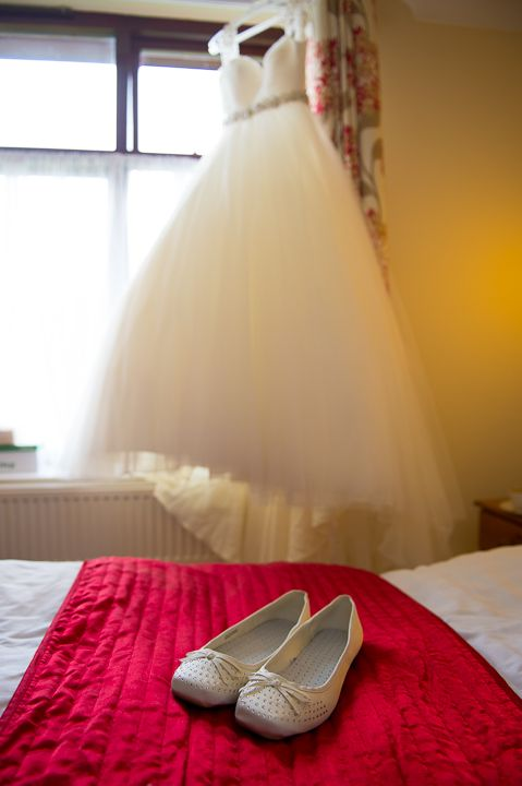 Draycote Hotel Rugby wedding shoes