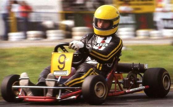 Ayrton Senna Kart Estoril 1979