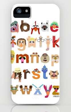 The Great Muppet Alphabet case