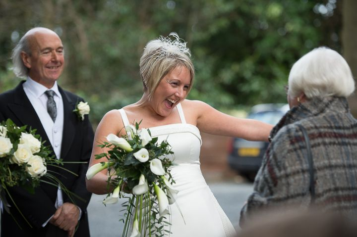 Worcestershire wedding happy bride