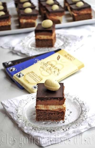 gÂteau de pÂques aux 3 chocolat green & black organic