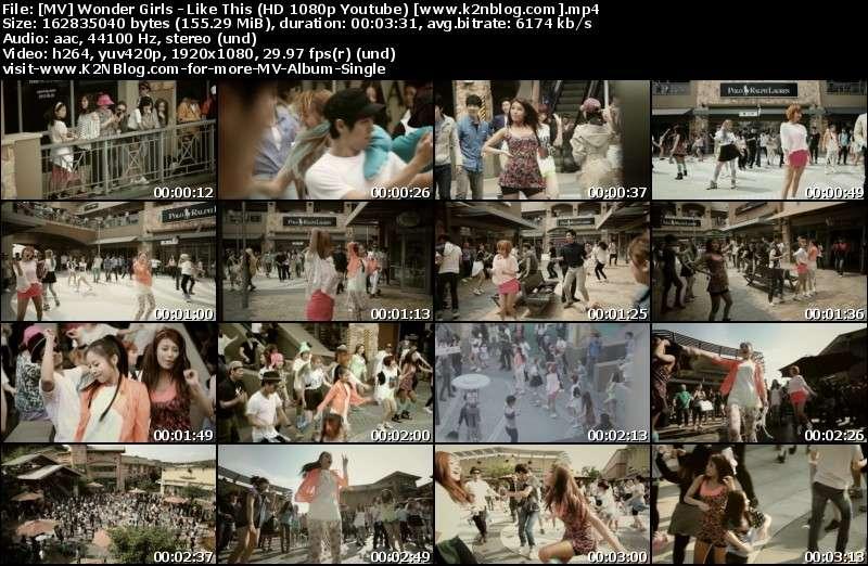 [MV] Wonder Girls   Like This (HD 1080p Youtube)