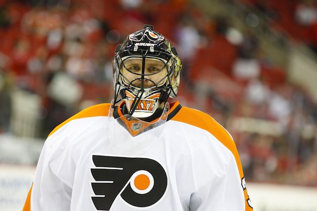 Should the Philadelphia Flyers buyout Ilya Bryzgalov after this season? (USATSI)
