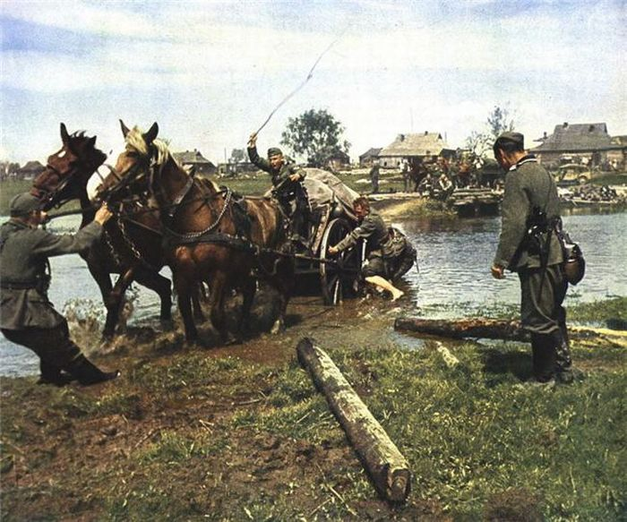 El ejército alemán en color