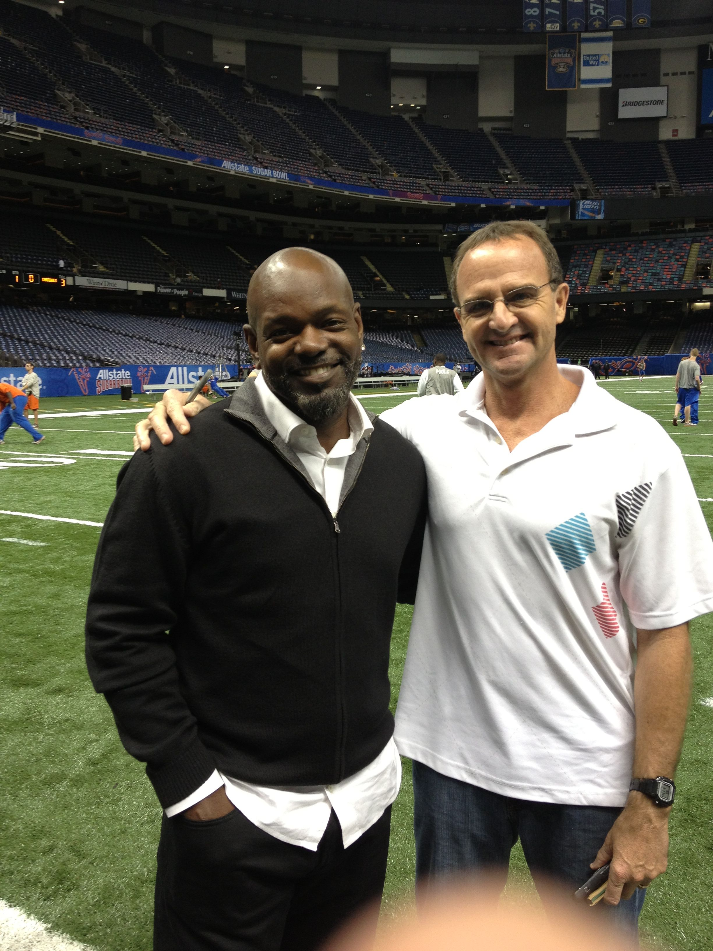 Emmitt and me