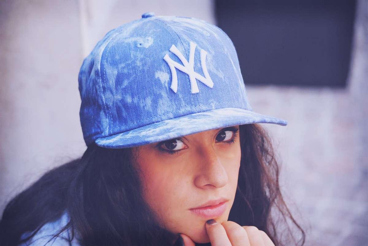 new era blue cap