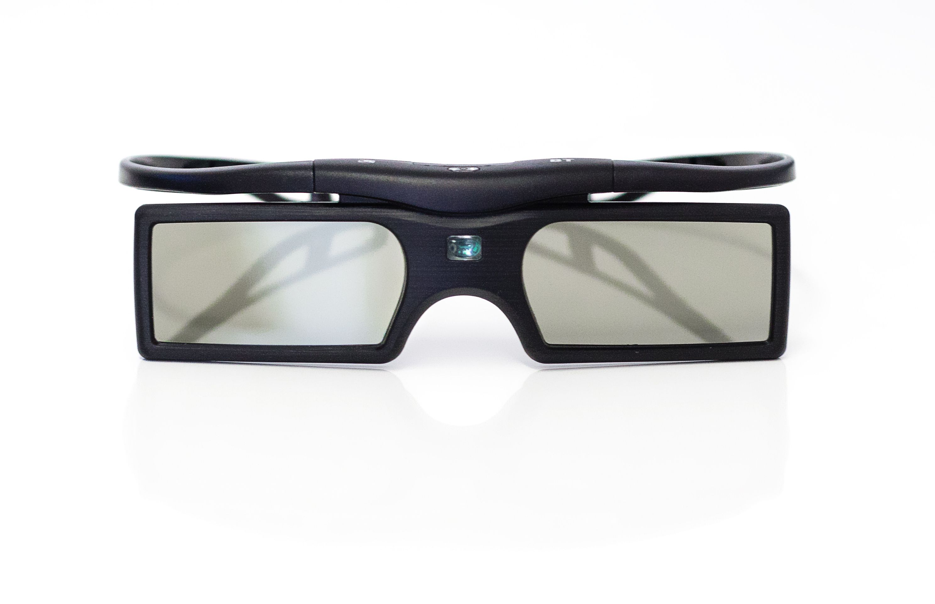 3d active shutter 3d brille batterie in schwarz f r. Black Bedroom Furniture Sets. Home Design Ideas
