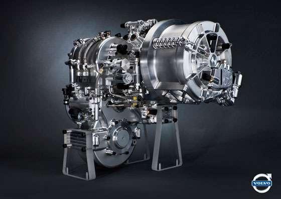 Experimental Volvo KERS unit