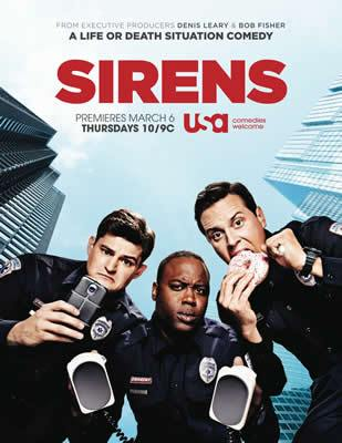 Sirens (US) – S02E07 – Let Pythons Be Pythons