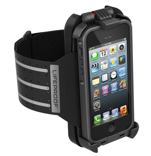 Lifeproof iPhone 5 fitness armband on Cool Mom Tech