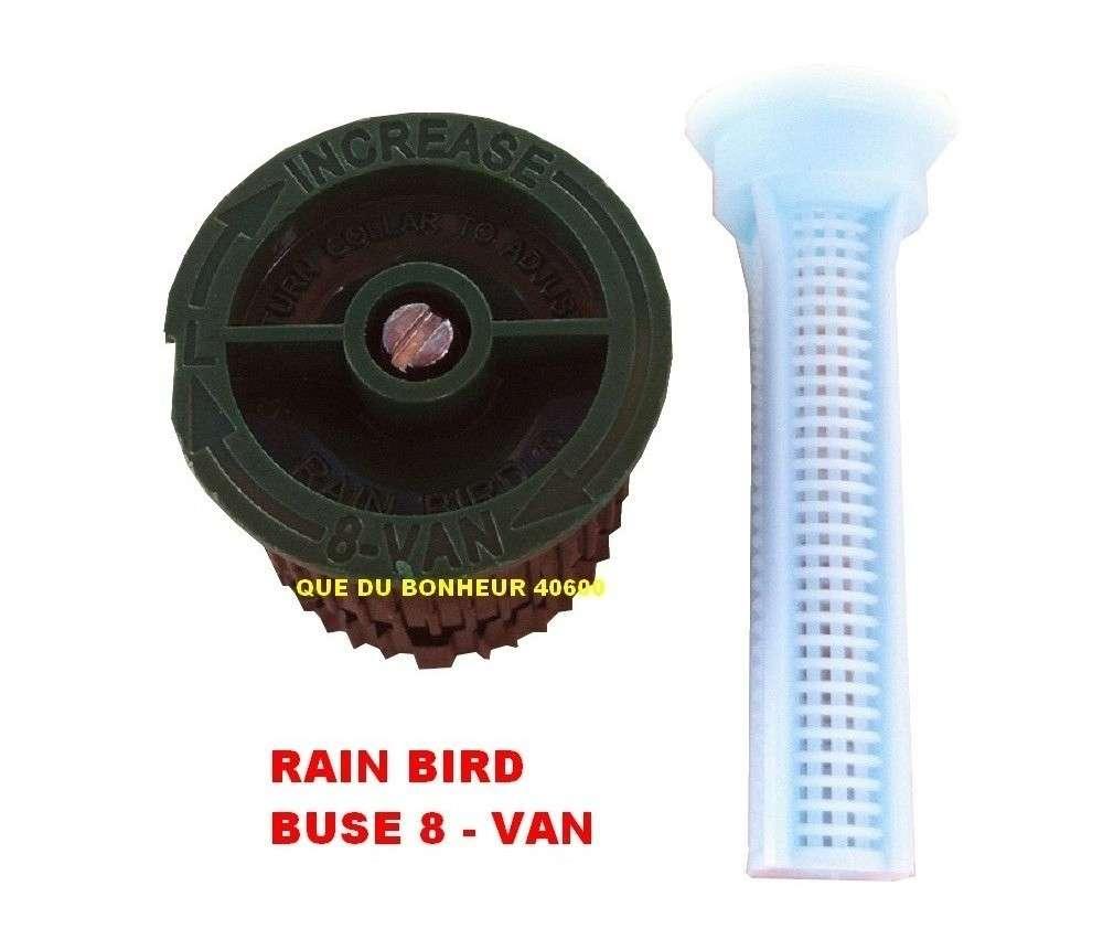 buse 08 van pour arroseur tuy re uni spray rain bird. Black Bedroom Furniture Sets. Home Design Ideas