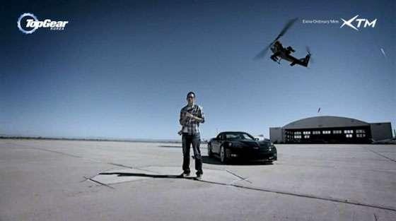 Top-Gear-Korea - Chevrolet Corvette ZR1 vs. Bell Cobra AH-1