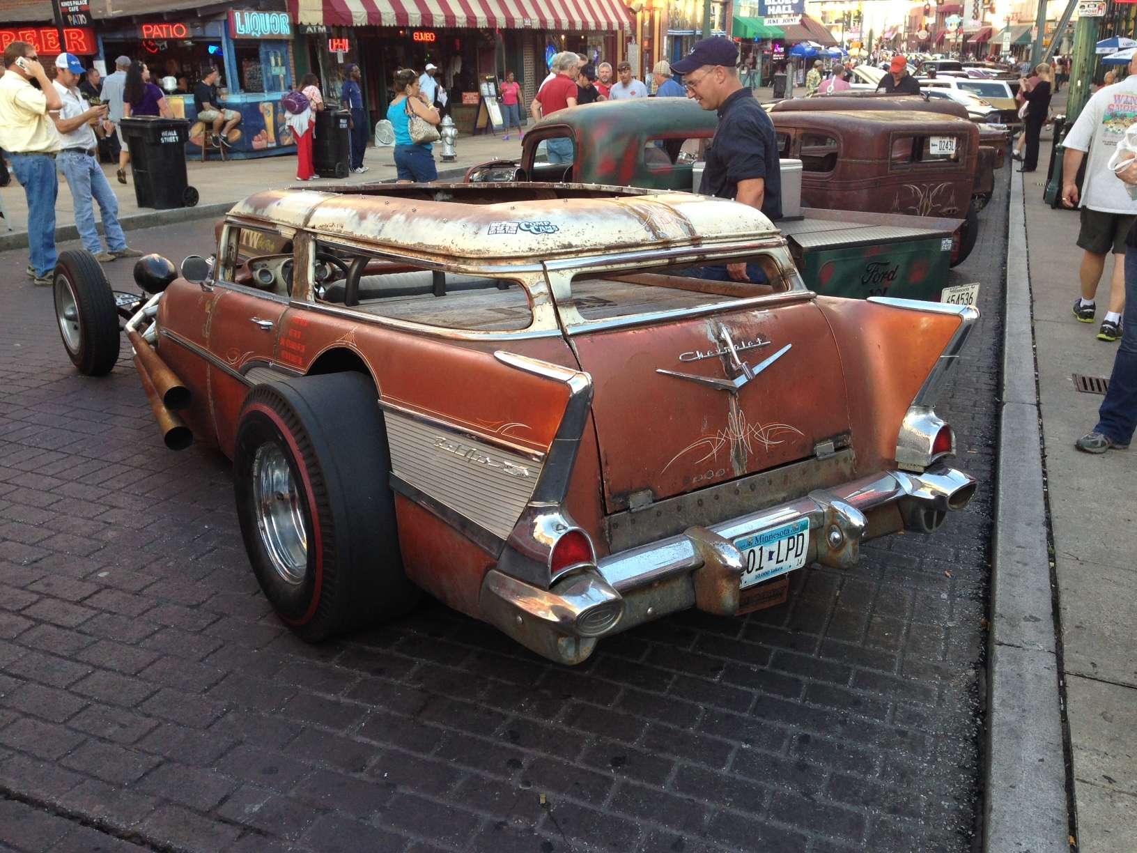 57 Nomad Rat Rod Trifive Com 1955 Chevy 1956 Chevy