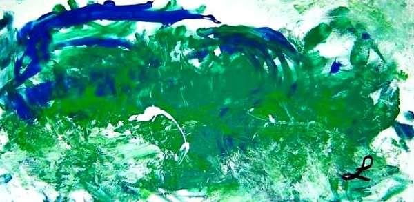 MOVING FORWARD I: BELIEVE IN GALLERY LUZ ARTWORK