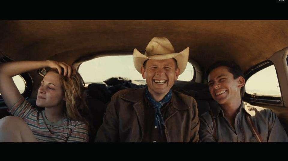 Jake La Botz alias Okie Hitchhiker dans Sur la Route mentionne Kristen.