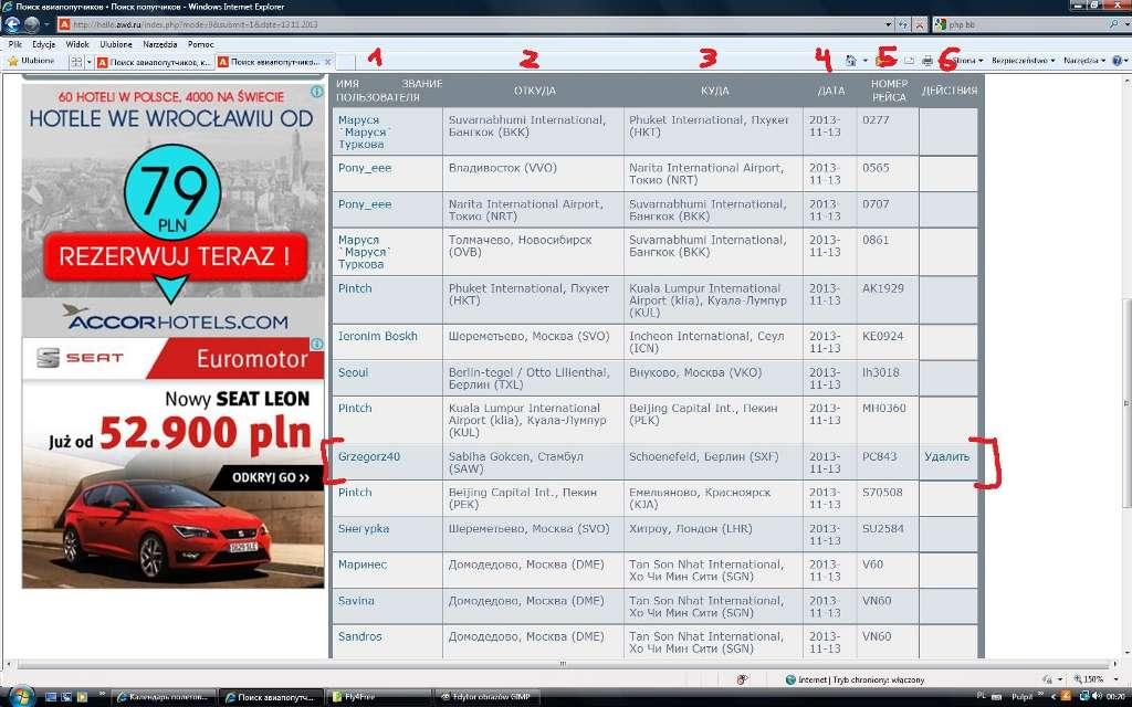 Forum strony Fly4free.pl