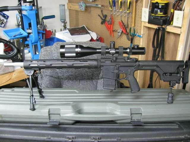 20 in free float quad rail - Gunsmithing Forum
