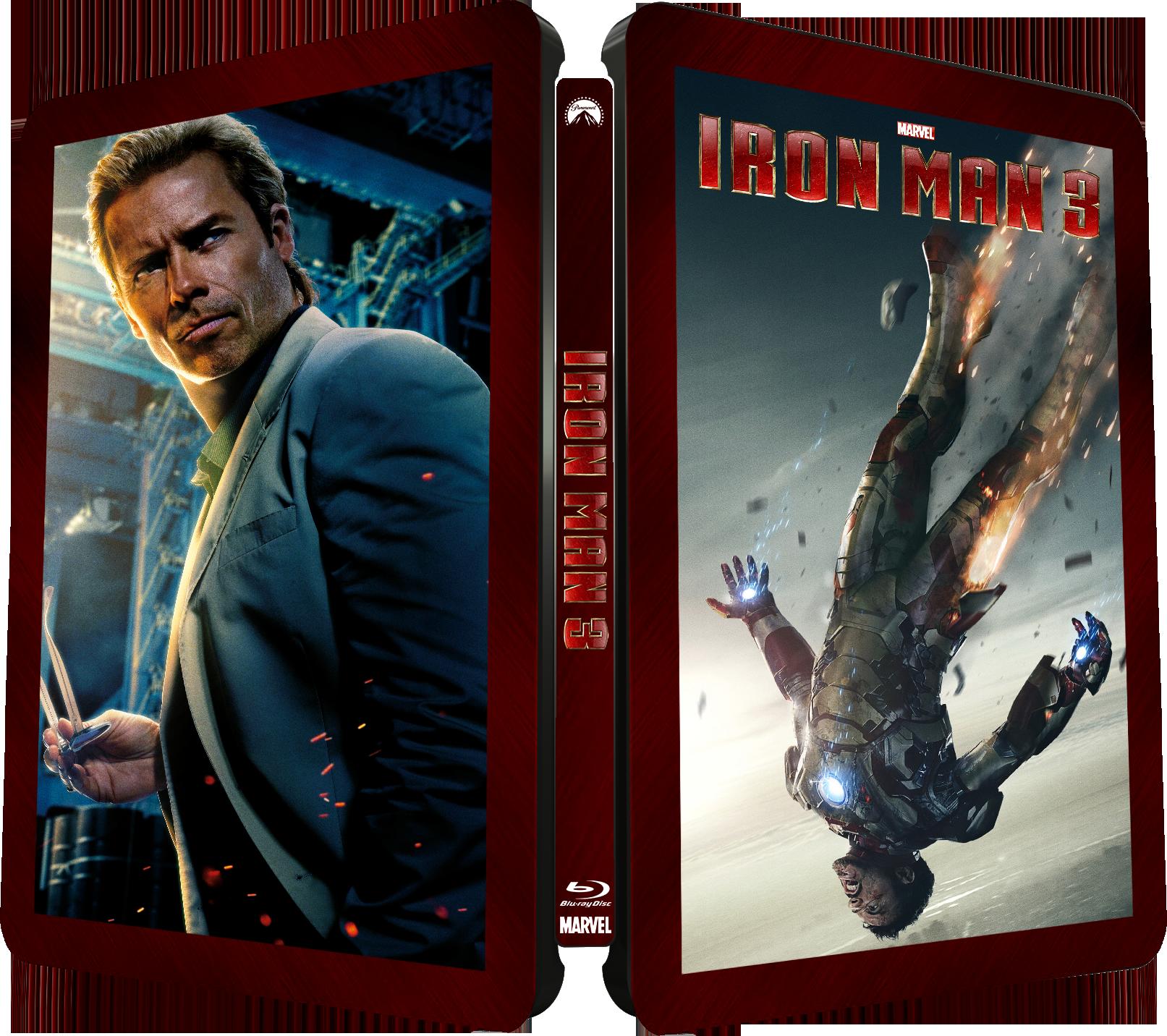 Iron Man 3  Zavvi Exclusive   Blu-ray Steelbook Iron Man 3 Blu Ray Steelbook