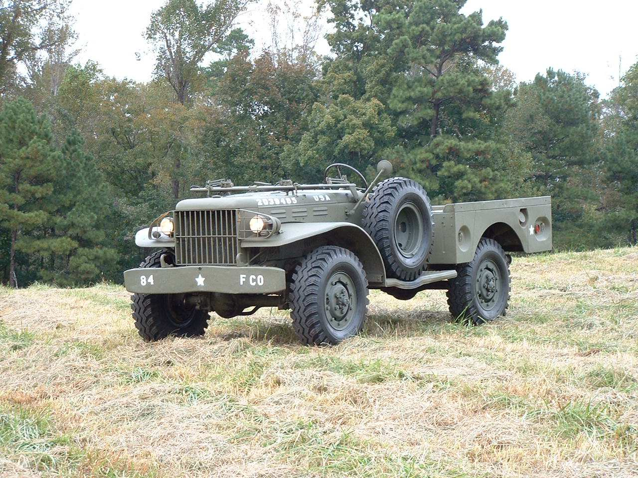 Buy new 1945 Dodge WC51 Weapons Carrier WW2 Beautiful ...