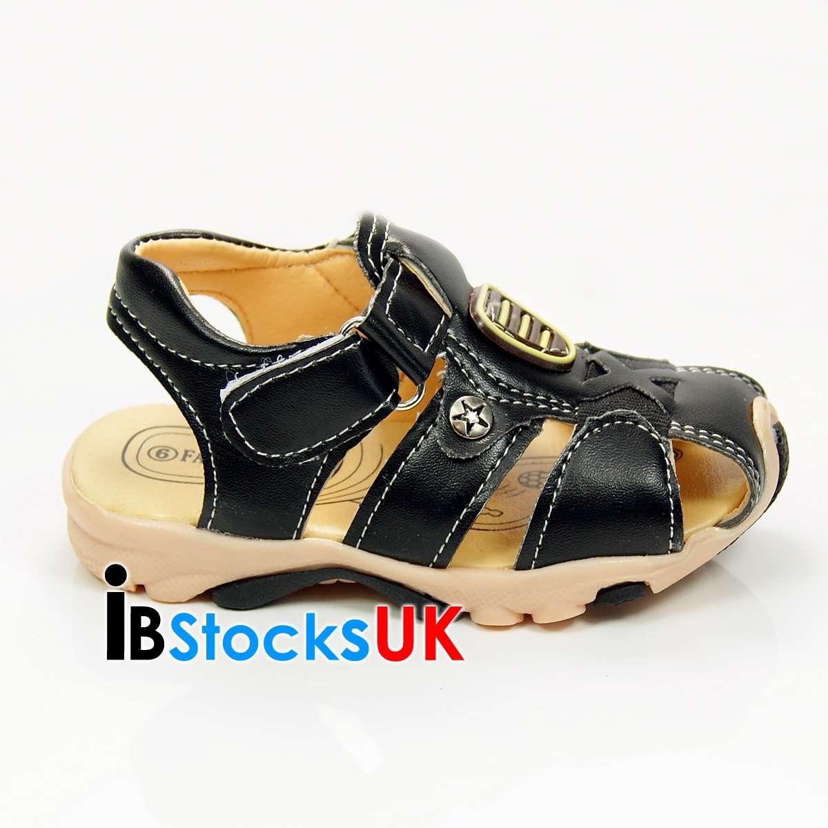kleinkind jungen sommer sandalen klettband cute kinder schuhe 37 38 39 40 41 neu ebay. Black Bedroom Furniture Sets. Home Design Ideas