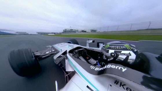 2014 Mercedes AMG W05 Hybrid - Silverstone Circuit - Nico Rosberg - Visualise's 360º Onboard Cam