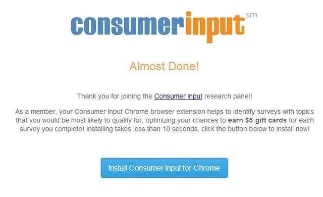 Remover ConsumerInput
