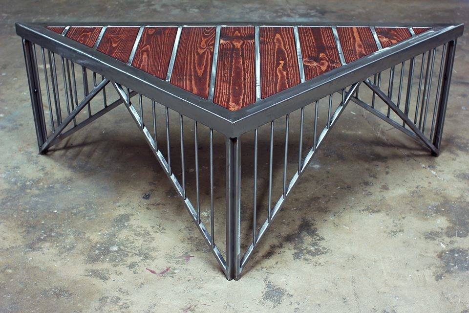 My Custom Crafted Metal And Wood Tables And Shelves   The Garage Journal  Board