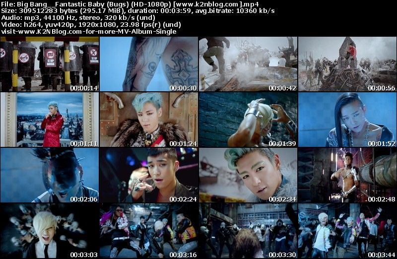 [Single] Big Bang - Fantastic Baby (Bugs HD 1080p)