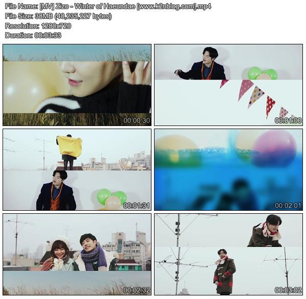 [MV] Zizo - Winter of Haeundae [HD 720p Youtube]