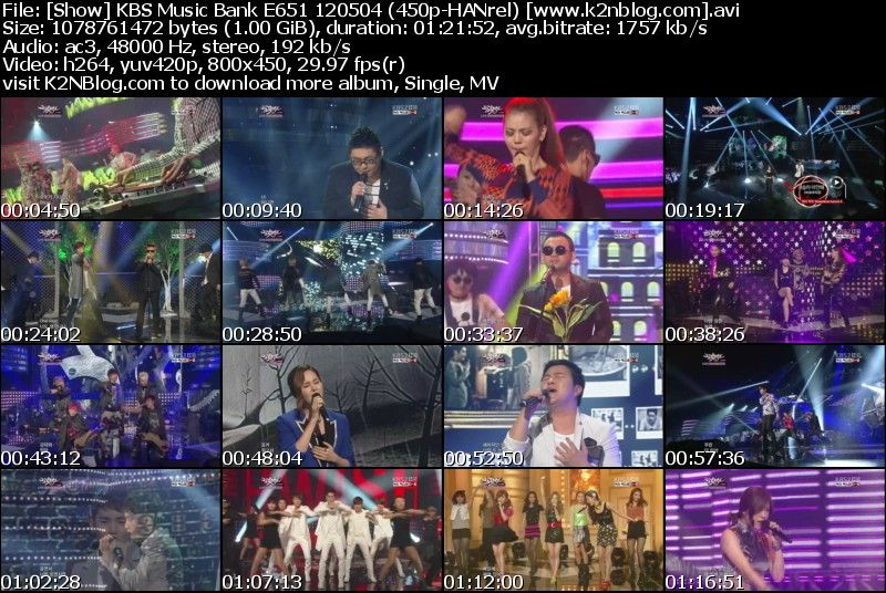[Show] KBS Music Bank E651 120504