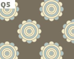 Floral Wheel Background