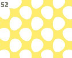 Light Blue and Soft Yellow Pattern