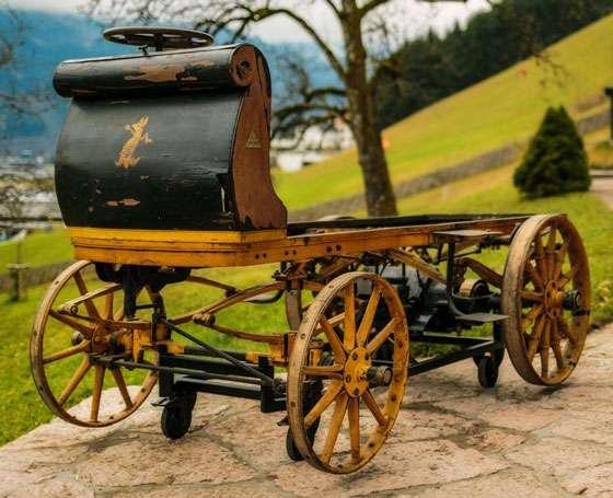 1898 Egger-Lohner C.2 Phaeton (Porsche P1)