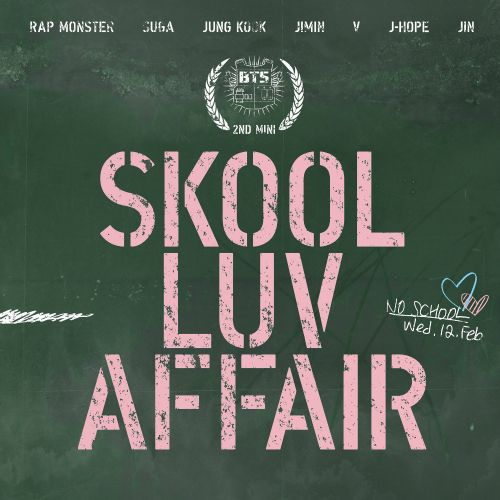 (Mini Album) BTS (Bangtan Boys) - Skool Luv Affair (2nd Mini Album)