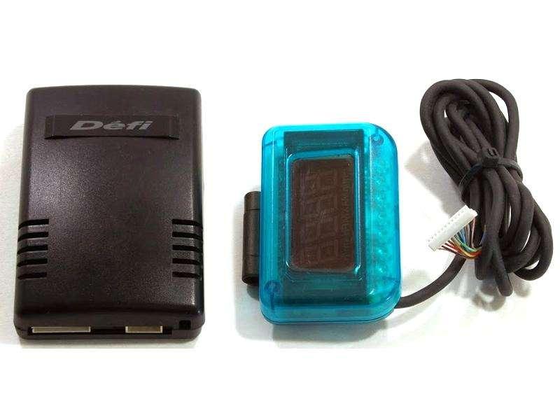 Defi VSD II blue version HUD speed meter