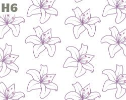 Purple Lillies Pattern