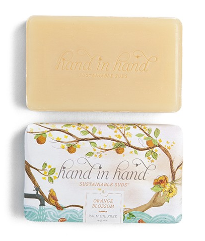 Orange Blossom soap | Hand in Hand