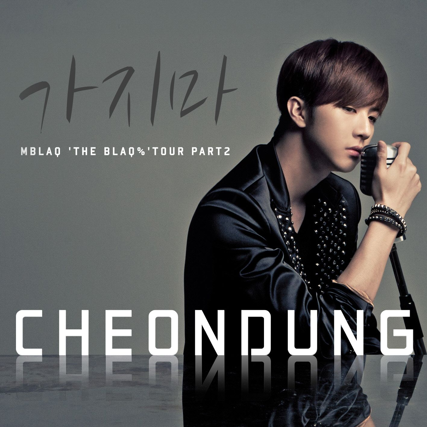 [Single] Thunder (MBLAQ) - 'THE BLAQ%' TOUR PART 2