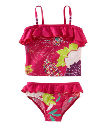 Capetown Surf girls' tankini | Tea Collection