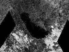 This image from NASA&#39;s Cassini spacecraft<br /> shows an ancient southern sea that used<br /> to sprawl out near the south pole of<br /> Saturn&#39;s moon Titan. In an annotated<br /> version, the red outline traces the<br /> ancient shoreline. Within this basin is<br /> the largest present-day lake in Titan&#39;s<br /> southern hemisphere, Ontario Lacus. Ontario<br /> Lacus appears black, indicating it is filled<br /> with liquid.<br /> Image Credit: NASA/JPL-Caltech/ASI/<br /> Proxemy Research&nbsp;&nbsp; <br /> <a href='http://www.nasa.gov/mission_pages/cassini/multimedia/pia16166.html' class='bbc_url' title='External link' rel='nofollow external'>� Full image and caption</a>