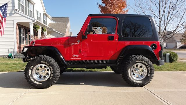 """Van Horn Jeep >> Pictures of TJ's with 32"""" tires and 4"""" lift - JeepForum.com"""