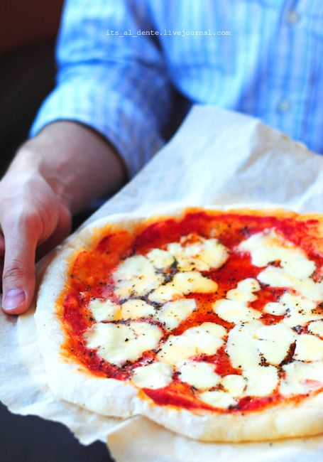 Домашняя пицца в духовке рецепт