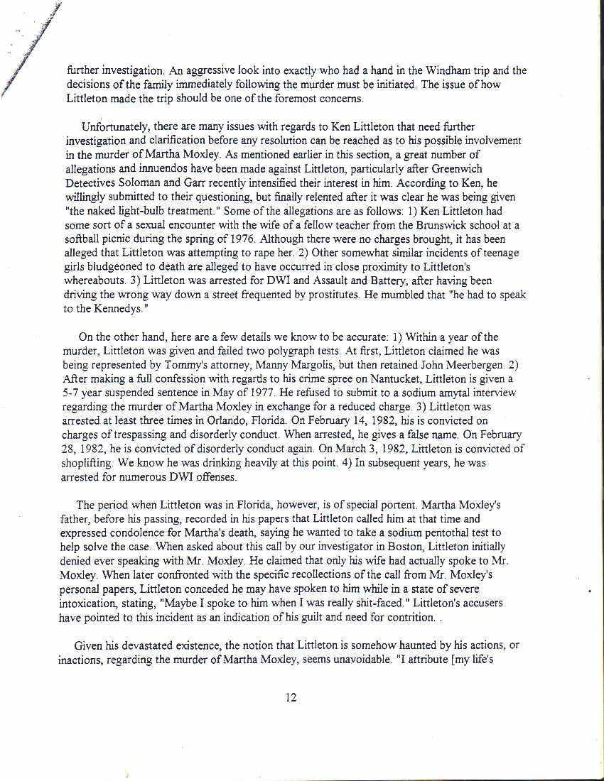 the sutton report ken littleton 12