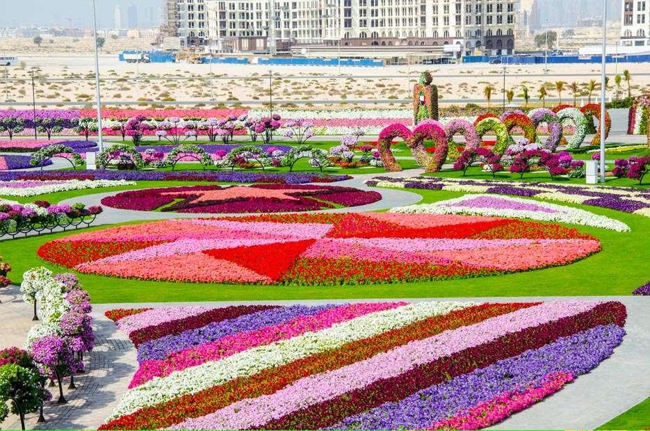 55461470 O maior jardim do Mundo   o jardim de milagre de Dubai