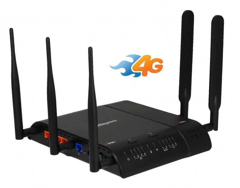 Modem 3G/4G Router Wireless DualBand Cradlepoint ARP MBR1400