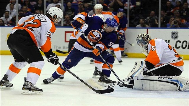 Casey Cizikas Flyers Islanders