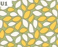 Tile Leaves Pattern